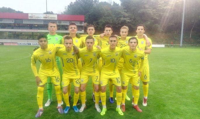 Сборная Украины U-16 потерпела второе поражение на Кубке Эгейского моря