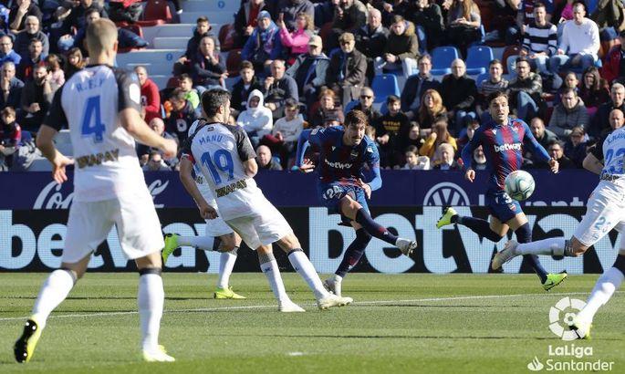 Примера. 20-й тур. Леванте второй раз в сезоне уступает Алавесу, Атлетико проваливается на поле Эйбара