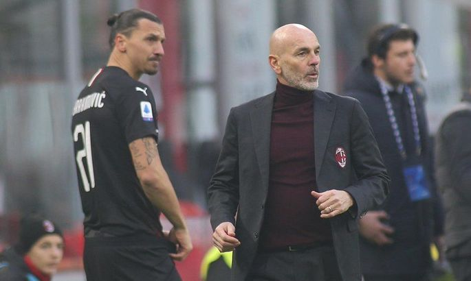 Стефано Пиоли: Ибрагимович - манна небесная для Милана