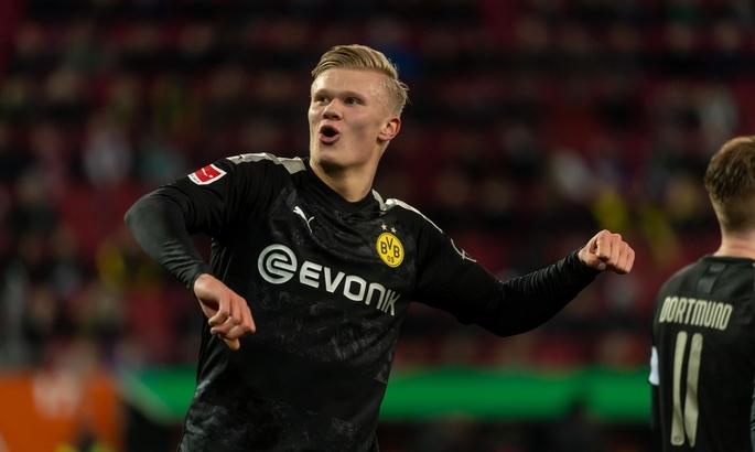 Холанд оформил хет-трик за 20 минут в дебютном матче за Боруссию
