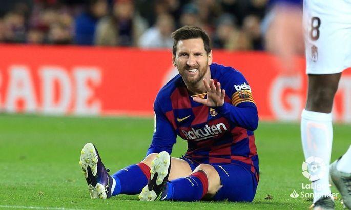 Примера. 20-й тур. Барселона - Гранада 1:0. На разряженных батарейках