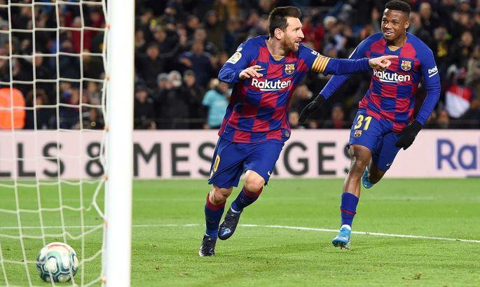 """""""Лео делает это всю жизнь"""". Сетьен – о победном голе Месси. Аргентинец забивает в Ла Лиге уже 16 лет подряд"""