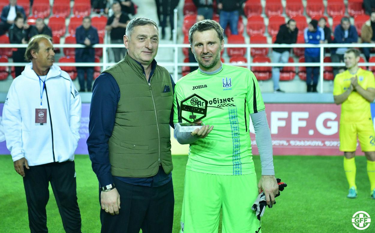 Ветеранская сборная Украины завоевала Кубок легенд - изображение 1
