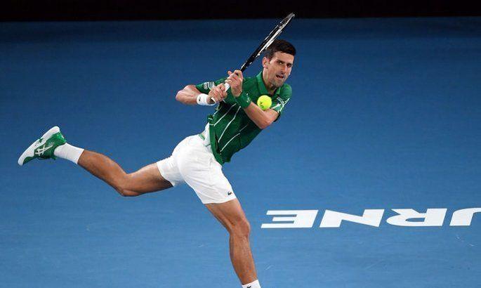 Australian Open. Джокович впервые за 14 лет проиграл сет в первом круге
