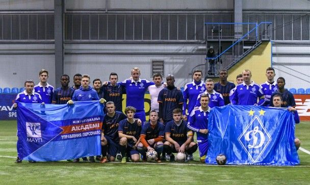 После расистского скандала фан-клуб Динамо провел матч со студентами-иностранцами