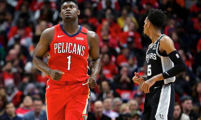 Шикарный аллей-уп Уильямсона – момент дня в НБА. ВИДЕО