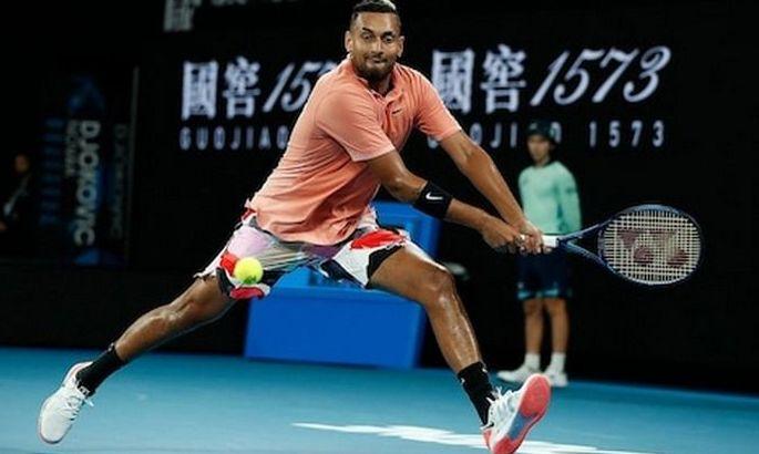 У кого самый сильный удар в теннисе? Отвечает Ник Кирьос. ВИДЕО