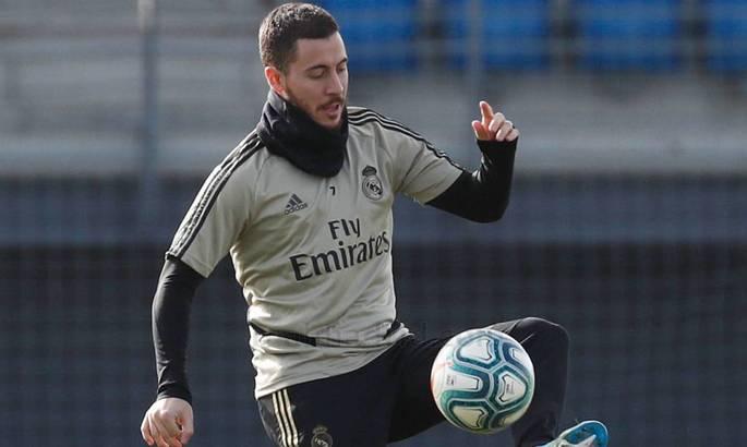 Мадрид ликует: Эден Азар приступил к тренировкам