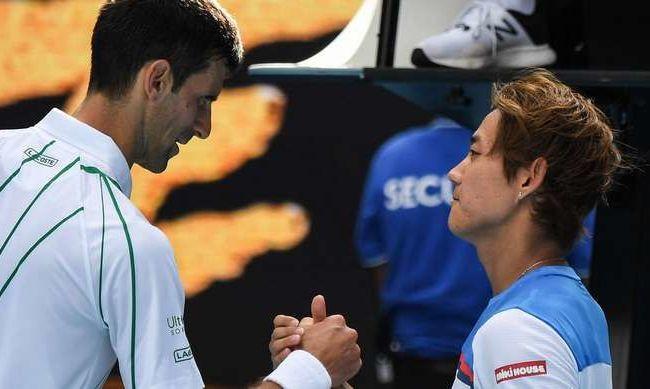 Джокович в тренировочном режиме вышел в 1/8 финала Australian Open