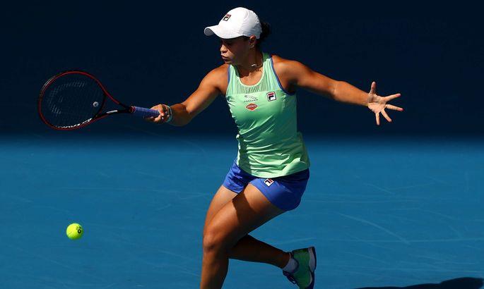 Барти в двух сетах прошла в 4-й раунд Australian Open