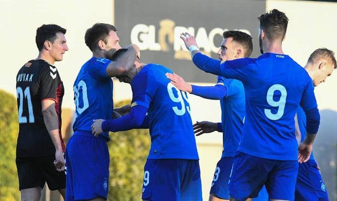 Динамо огласило стартовый состав на спарринг с Хайдуком