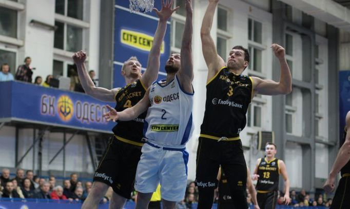 Одесса добыла волевую победу над Киев-Баскетом