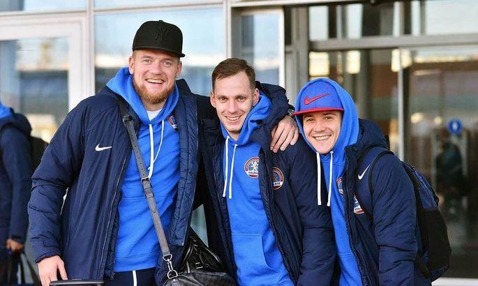 Львов с тремя игроками на просмотре отправился на сбор в Турцию