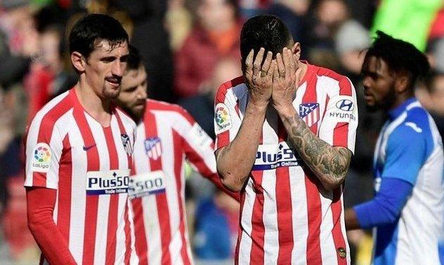 Атлетико повторил свой антирекорд результативности, забив 22 гола в 21 матче Ла Лиги