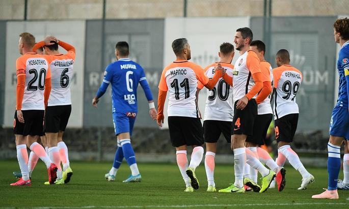 Шахтёр забил дважды, но не обыграл сербский клуб в товарищеском матче