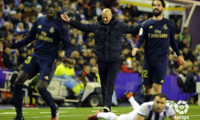 Примера. 21-й тур. Вальядолид - Реал 0:1. Минимализм на грани с нулячестю