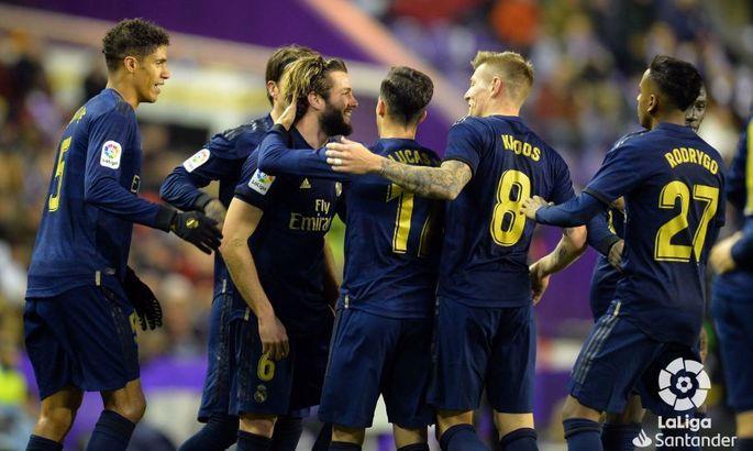 Сквозь тонкую щель. Вальядолид - Реал 0:1. Обзор матча и видео гола
