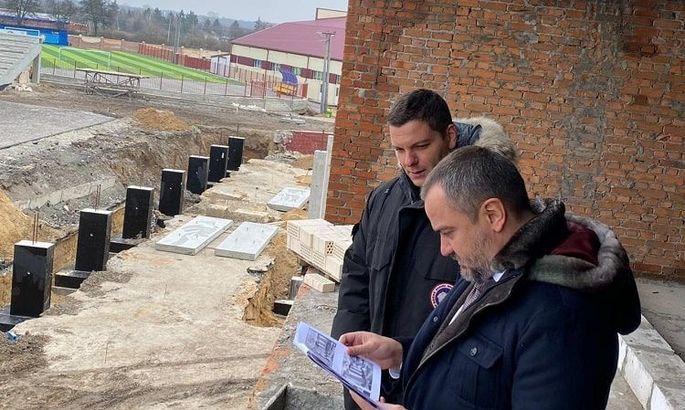 Матчи сборных в Ковалевке. Павелко высказал идею о будущем стадиона Колоса