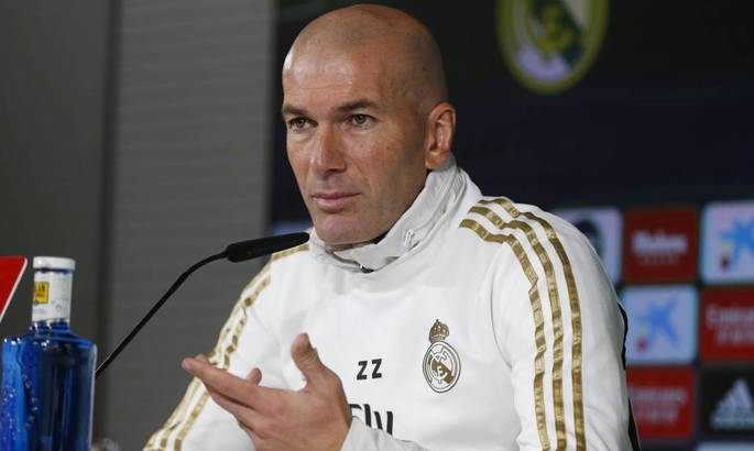 Зідан: Реал лише тричі виграв кубок за 30 років? Але ж у нас 13 трофеїв Ліги Чемпіонів, правильно?