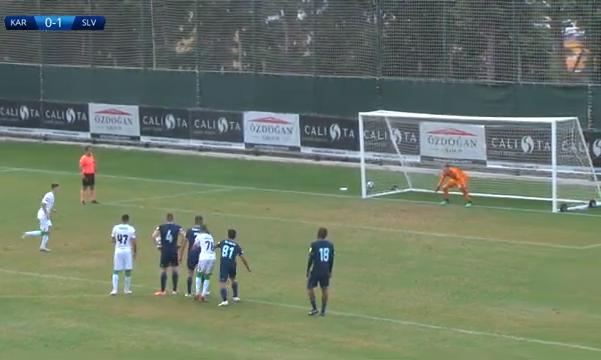 В первом товарищеском матче Карпаты забили, но Слован не победили