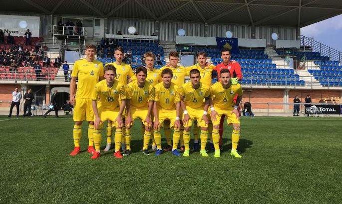 Украина U-18 сыграет на Кубке Словакии, в рамках которого может пересечься с Россией