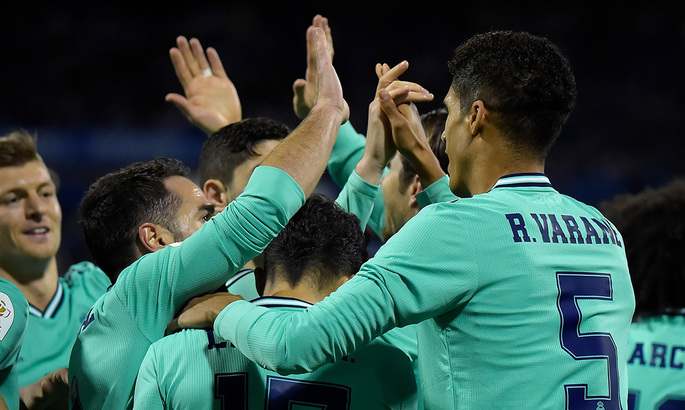 Кубок Іспанії. 1/8-а фіналу. Реал на класі громить Сарагосу