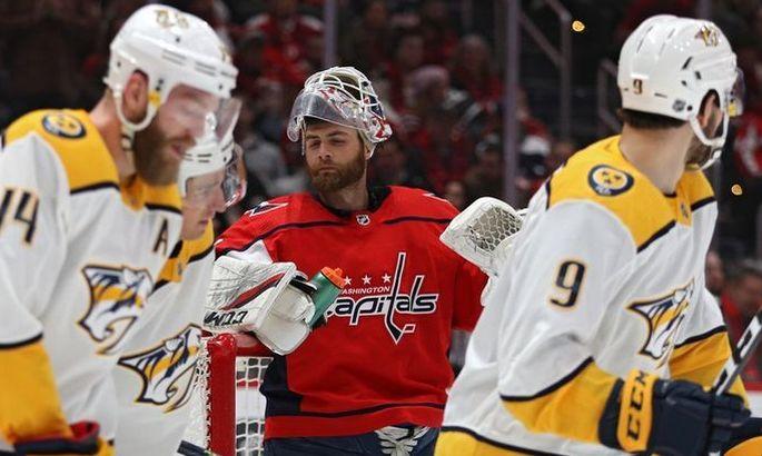 НХЛ: Вашингтон проиграл Баффало, победы Тампы и Рейнджерс
