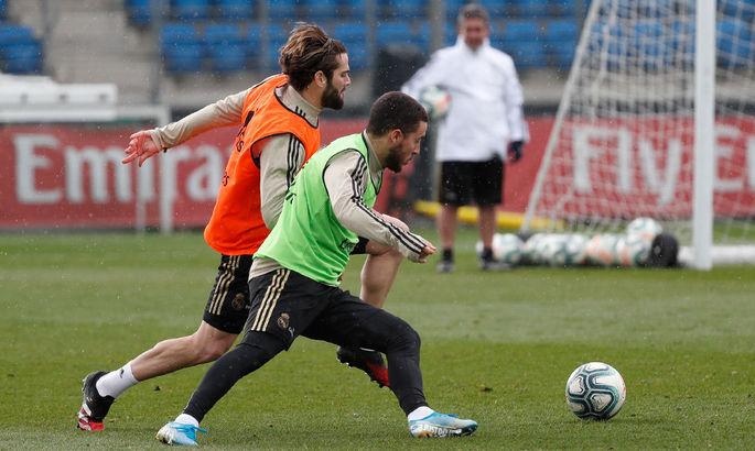 Азар відновив тренування із загальною групою мадридського Реала