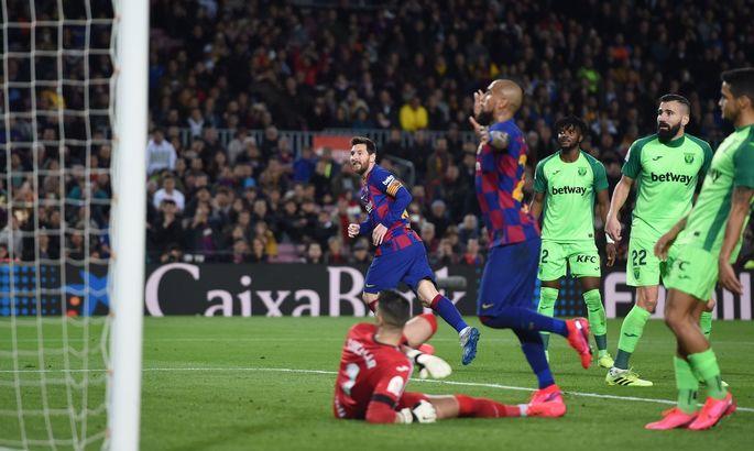 500-я победа Месси за Барсу. Барселона - Леганес 5:0. Обзор матча и видео голов