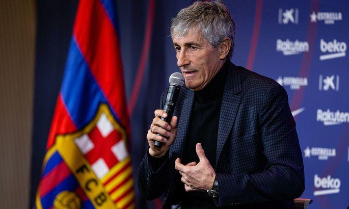 Кике Сетьен: Я вижу себя тренером Барселоны в следующем сезоне