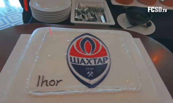 Как празднуют дни рождения в Шахтере - OrangeBlackVlog