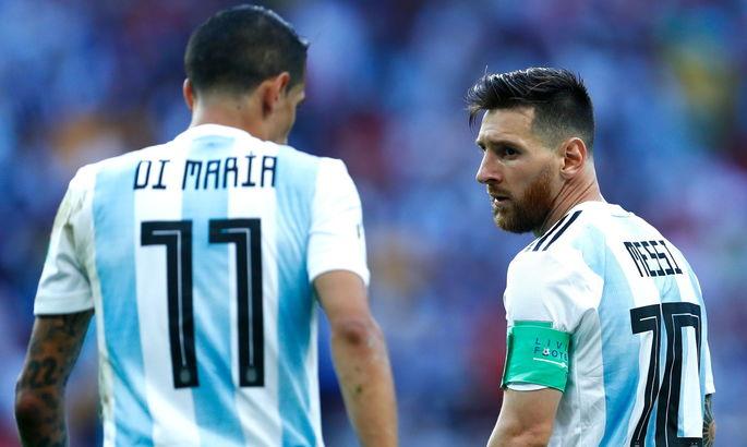 """""""Роналду – монстр, но Месси – лучший"""". Ди Мария сравнил португальца и аргентинца"""