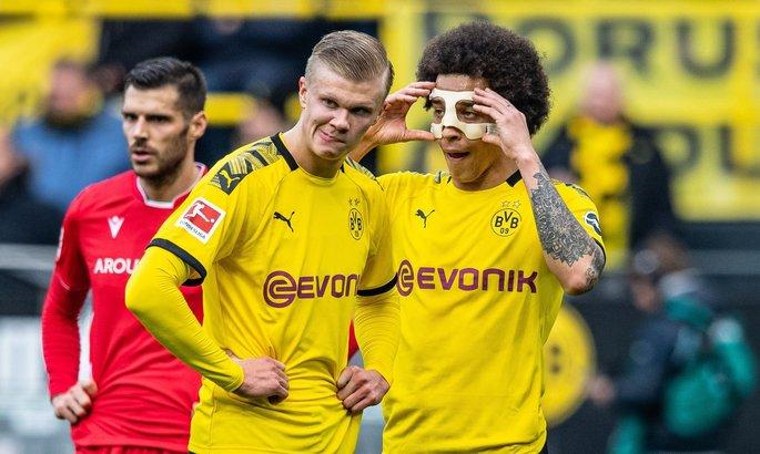 Бундеслига. Пять голов от Дортмунда, три от Баварии, дубль Холанда