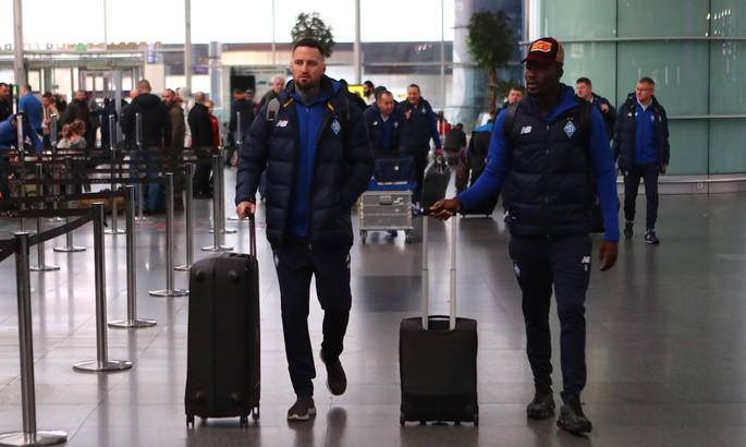 Динамо вирушило до Туреччини на другий збір