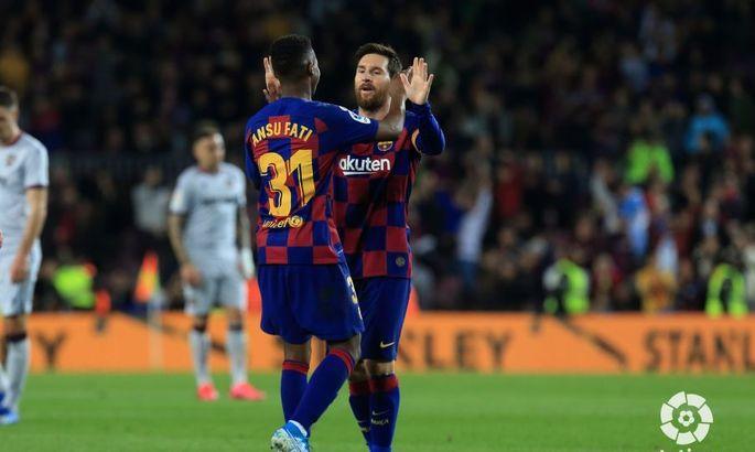 Традиції Камп Ноу підтримує Фаті. Барселона - Леванте. 2:1. Огляд матчу та відео голів