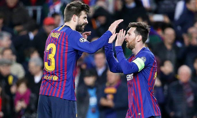 ЗМІ: Мессі і Піке посварилися на тренуванні Барселони