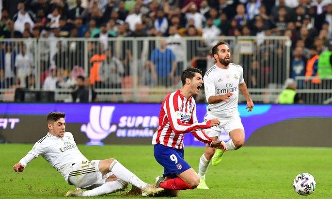 Основной форвард Атлетико получил травму и может не сыграть против Ливерпуля