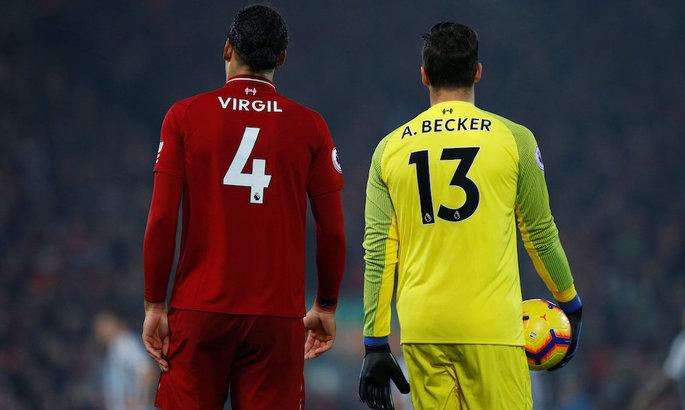 Ливерпуль готовит новые контракты для Ван Дейка и Алиссона
