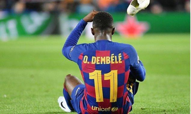 Официально: У Дембеле разрыв сухожилия правого бедра. Вероятно, что в сезоне он больше не сыграет