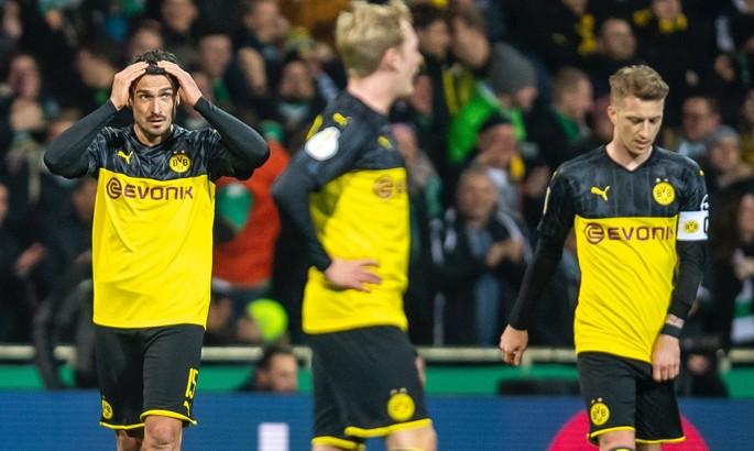 Вердер - Боруссия 3:2. Еще один гол Холанда не помог Дортмунду избежать вылета из Кубка Германии