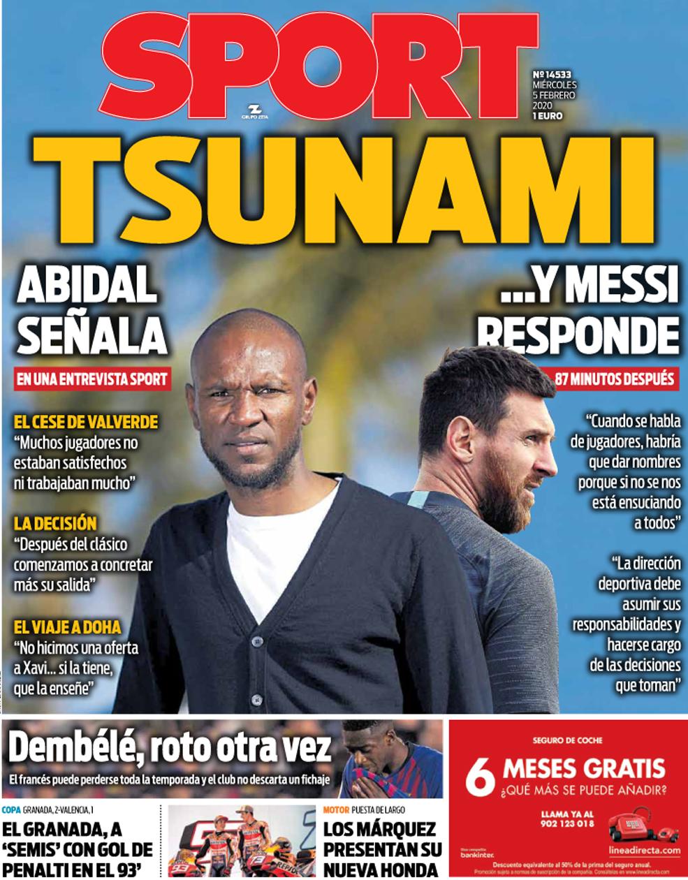 Криза в Барселоні. Мессі розкритикував спортивного директора Еріка Абідаля - фото 2