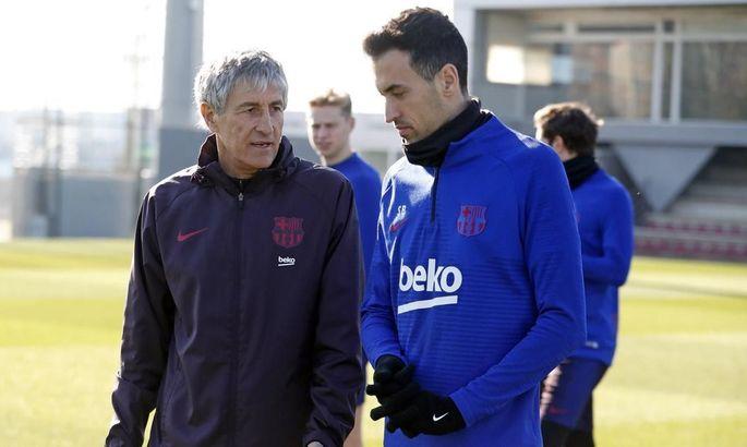 """""""У нас ще є два турніри"""". Сетьєн та Бускетс – про виліт Барси з Кубка Іспанії"""