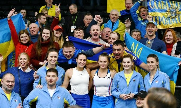 Украина опустилась на 29-е место в рейтинге Кубка Федерации