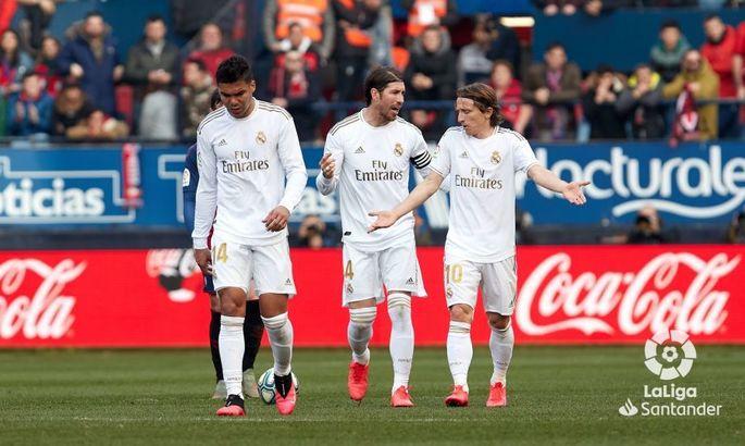 З рекордом Рамоса. Осасуна - Реал 1:4. Відео голів і огляд матчу