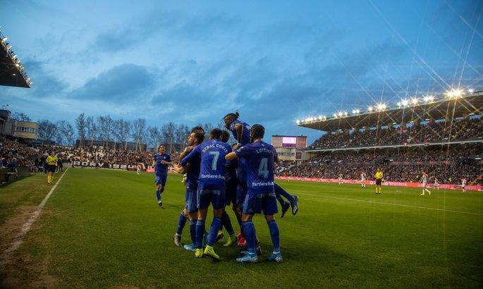 Сарагоса - Овьедо. Смотреть онлайн LIVE прямую видеотрансляцию матча Сегунды