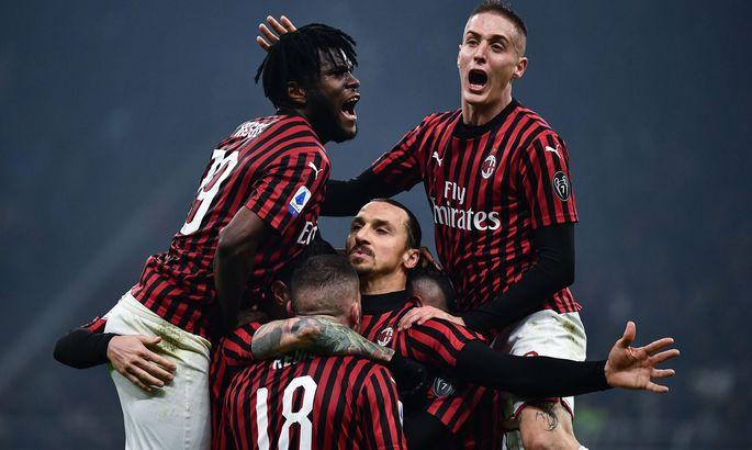 """""""Я ждал большего от Интера"""". Златан – о поражении Милана. Швед установил рекорд в Derby della Madonnina"""
