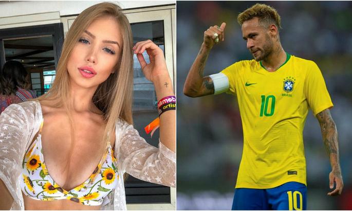Бразильская модель обвиняет Неймара в организации сети VIP-проституции