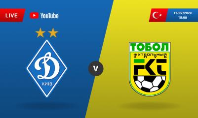 ФК Динамо объявил стартовый состав на контрольный поединок с Тоболом
