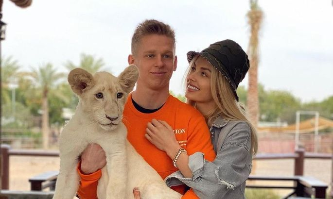 Влада в купальнике, романтика и знакомство со львом - как Зинченко отдыхает в Дубае. ВИДЕО