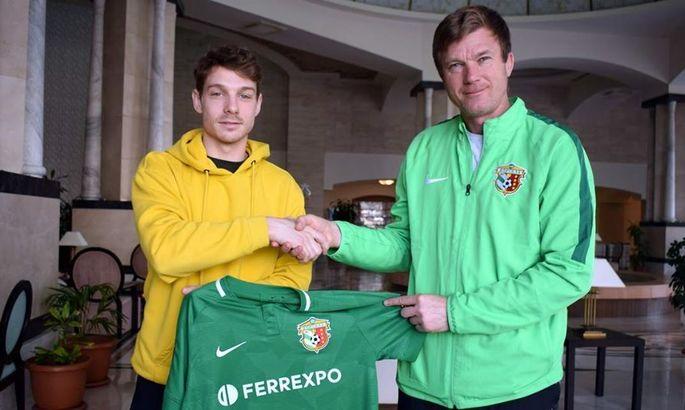Ворскла подписала контракт с хорватским полузащитником